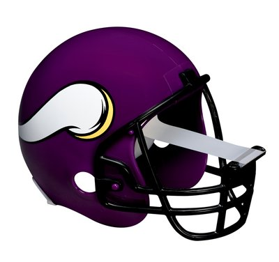 Minnesota Vikings Football Helmet
