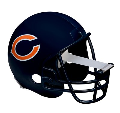 Chicago Bears Football Helmet