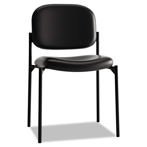 basyx VL606 Series Stacking Armless Guest Chair