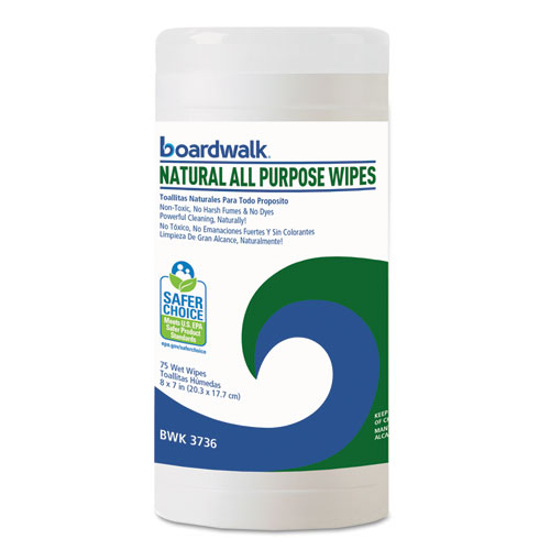 Boardwalk Natural All Purpose Wipes