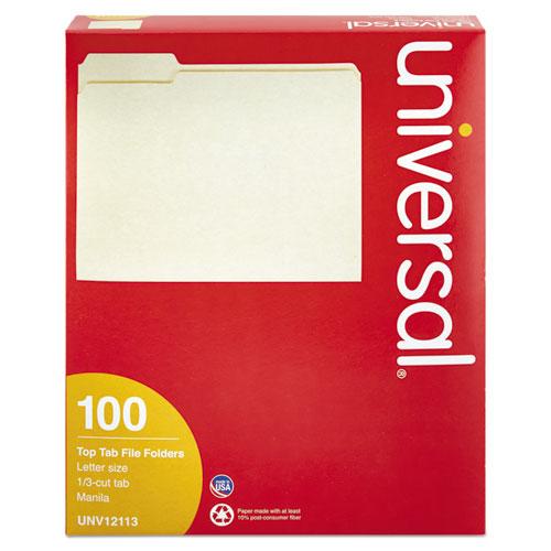 Universal 1/3 Cut File Folders