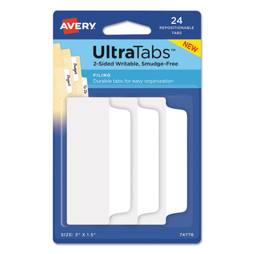 Avery Repositionable Ultra Tabs